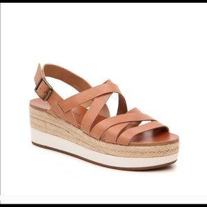 Lucky Brand Jokepa Wedge Sandal Size 8 1/2